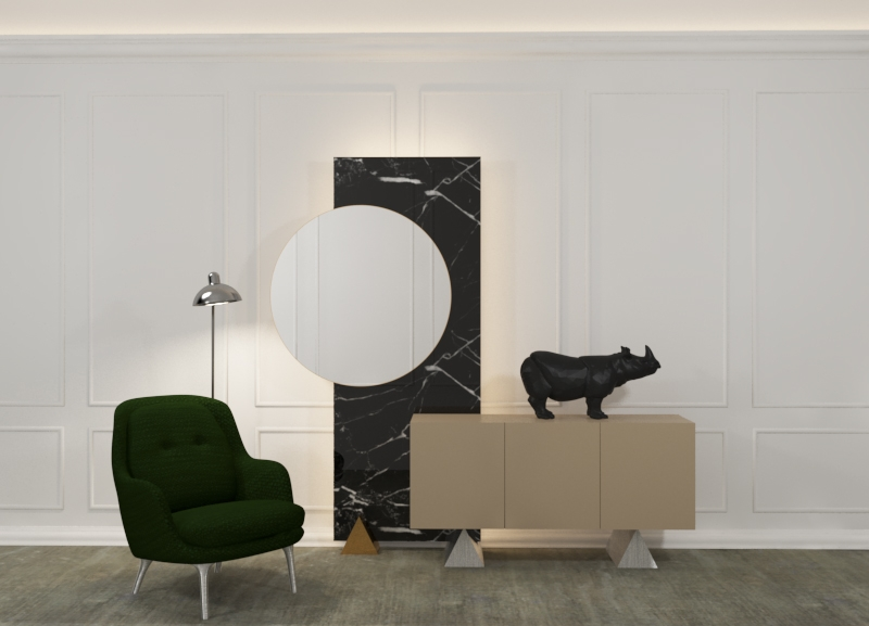 MUEBLE RECIBIDOR SPACE INDESIGN